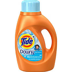Downy Procter Gamble Tide Plus Detergent