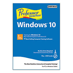 Professor Teaches Windows 10 by Office Depot  OfficeMax