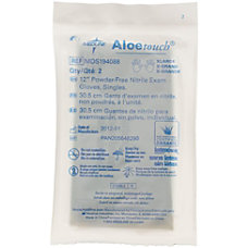 Medline Aloetouch Disposable Powder Free Nitrile