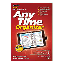 AnyTime Organizer Deluxe 15 Traditional DiscDownload