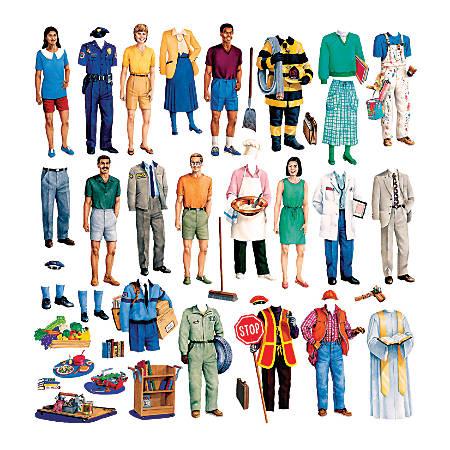 Little Folk Visuals Community Helpers Flannel Board Set, Multicolor, Grades Pre-K - 5