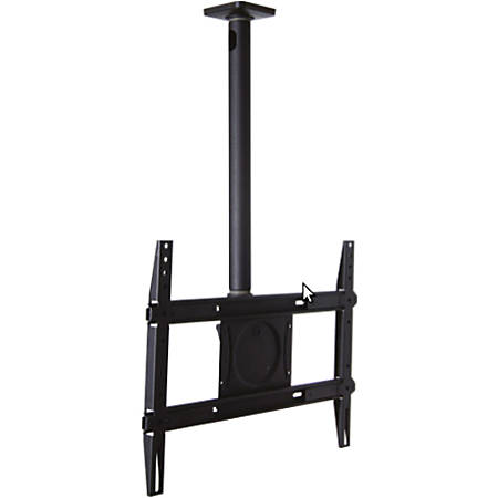 "OmniMount CM125 Ceiling Mount for Flat Panel Display - Black - 32"" to 65"" Screen Support - 125 lb Load Capacity"