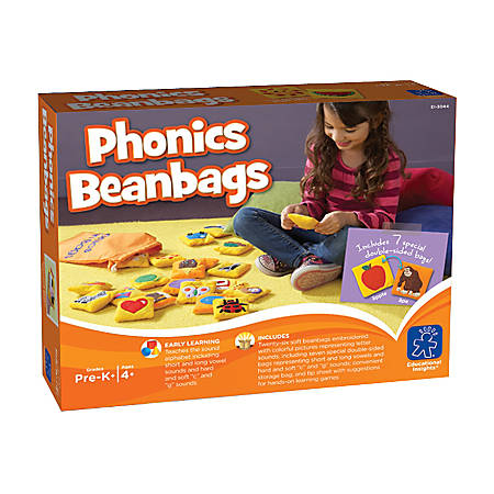 Learning Resources® Phonics Bean Bags, Pack Of 26