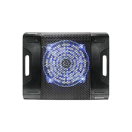Thermaltake Massive23 LX Cooling Stand - 1 Fan(s) - 600 rpm rpm - 408.4 gal/min - Aluminum, Plastic - Black