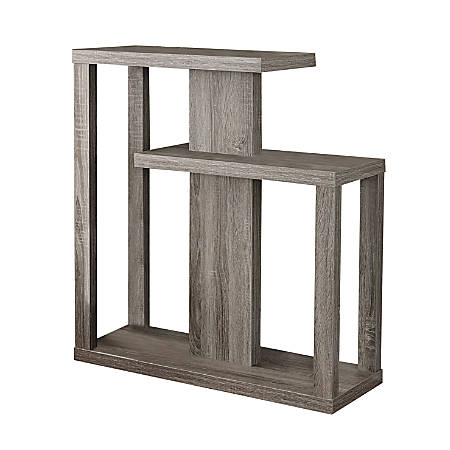 Monarch Specialties Console Table, Staggered, Dark Taupe