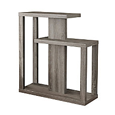 Monarch Specialties Console Table Staggered Dark