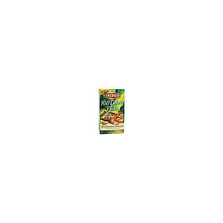 Emerald Diamond 100 Calorie Packs Dry Roasted Almonds - Almond - Packet - 0.63 oz - 7 / Box