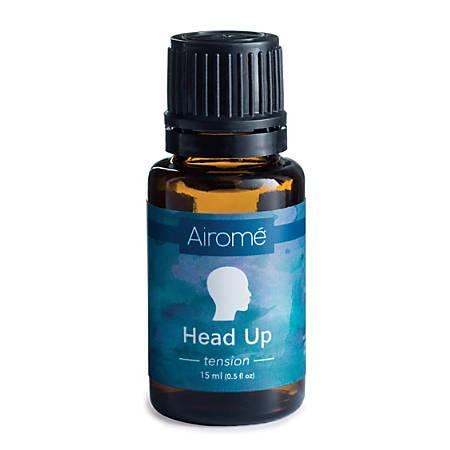 Airome Essential Oils, Head Up Blend, 0.5 Fl Oz, Pack Of 2 Bottles