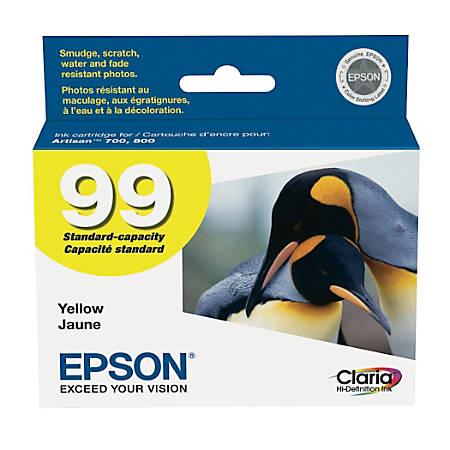 Epson® 99, (T099420-S) Claria® Hi-Definition Yellow Ink Cartridge