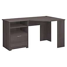 Bush Furniture Cabot Corner Desk Heather