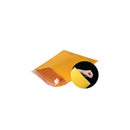 """Office Depot® Brand Kraft EZ Open Tear-Tab Bubble Mailers, #1, 7 1/4"""" x 12"""", Pack Of 100"""