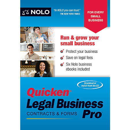 Quicken® Legal Business Pro, Traditional Disc