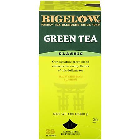 Bigelow® Green Tea Bags, Box Of 28 Bags
