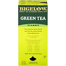 Bigelow Green Tea Bags Box Of