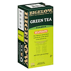Bigelow Decaffeinated Green Tea Box Of