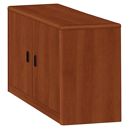 HON® 10700 Series Laminate 2-Door Storage Cabinet, Cognac
