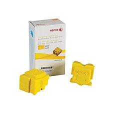 Xerox ColorQube Yellow Ink Sticks XER108R00928
