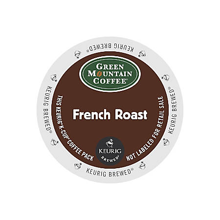 Green Mountain Coffee® French Roast Coffee K-Cups®, Box Of 24