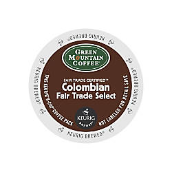 Green Mountain Coffee Colombian Fair Trade