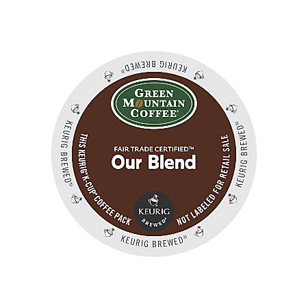 Green Mountain Coffee® Our Blend Coffee K-Cup® Pods, 0.33 Oz, Box Of 24