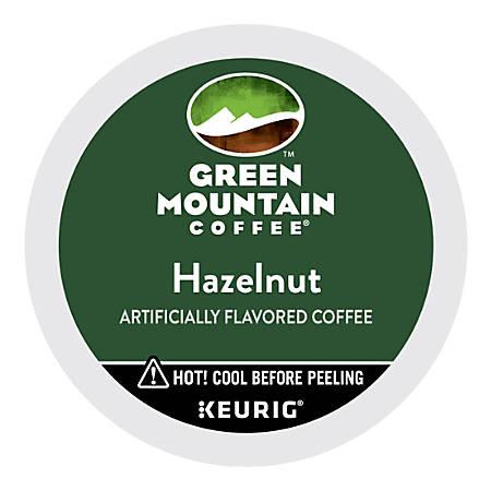 Green Mountain Coffee® Hazelnut Coffee K-Cups®, 0.33 Oz., Box Of 24