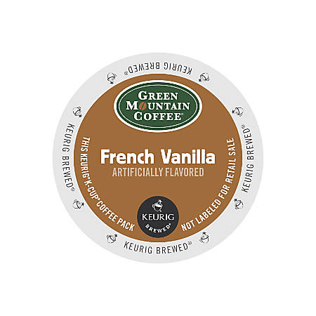 Green Mountain Coffee® French Vanilla Coffee K-Cup® Pods, Box Of 24 Pods