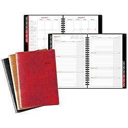 Day Timer Faux Lizard WeeklyMonthly Planner