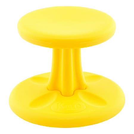 "Kore Toddler Wobble Chair, 10""H, Yellow"