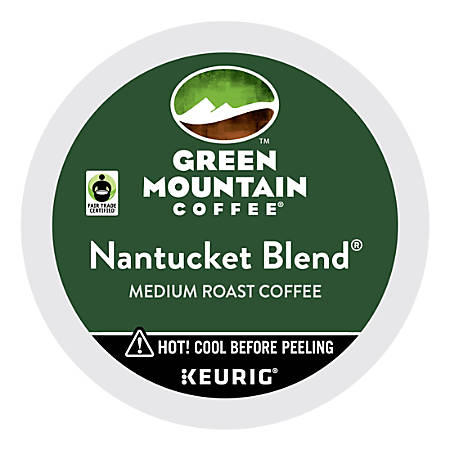 Green Mountain Coffee® Nantucket Blend® Coffee K-Cups®, Box Of 24
