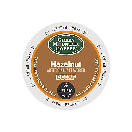 Green Mountain Coffee® Hazelnut Decaffeinated Coffee K-Cups®, Box Of 24