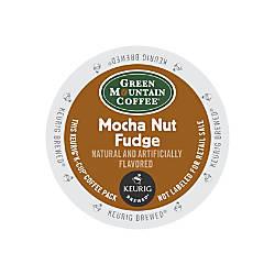Green Mountain Coffee Mocha Nut Fudge