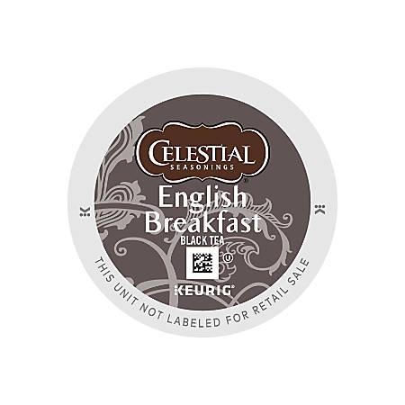 Celestial Seasonings® English Breakfast Tea K-Cups®, Box Of 24