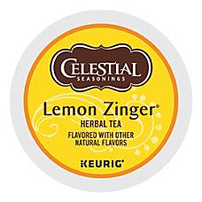 Celestial Seasonings Lemon Zinger Tea Single