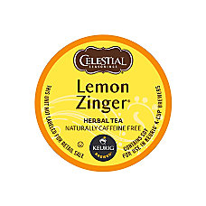 Celestial Seasonings Lemon Zinger Tea K