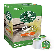 Green Mountain Coffee French Vanilla Decaffeinated