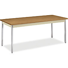 HON Rectangular Metal Utility Table Rectangle