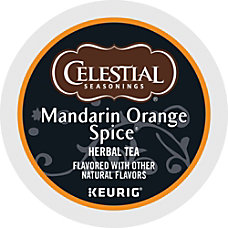 Celestial Seasonings Mandarin Orange Tea Single