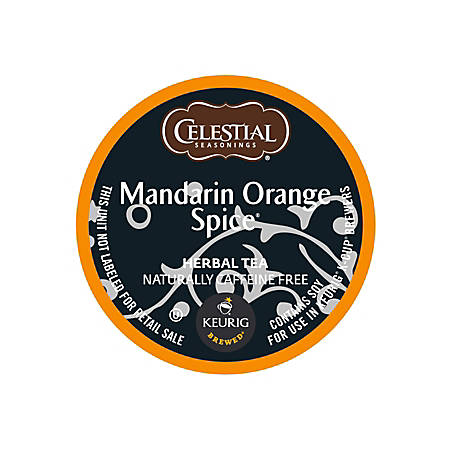 Celestial Seasonings® Mandarin Orange Tea K-Cups, Box Of 24