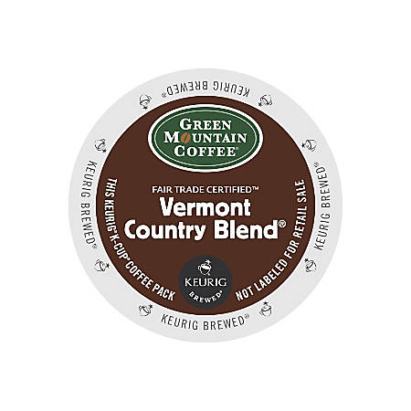 Green Mountain Coffee® Vermont Country Blend® Coffee K-Cup® Pods, Box Of 24