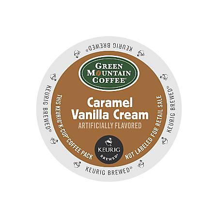 Green Mountain Coffee® Caramel Vanilla Cream Coffee K-Cup® Pods, 0.42 Oz, Box Of 24 Pods
