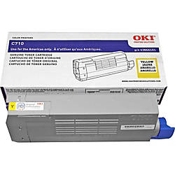 OKI 43866101 Yellow Toner Cartridge