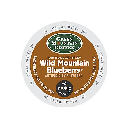 Green Mountain Coffee® Fair Trade Wild Mountain Blueberry Coffee K-Cup® Pods, Box Of 24 Pods