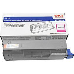 OKI 43866102 Magenta Toner Cartridge