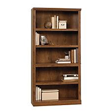 Sauder Select Bookcase 5 Shelf Oiled