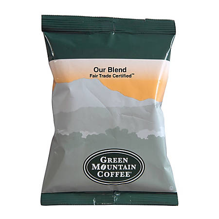 Green Mountain Coffee® Our Blend Coffee Packets, 2.2 Oz, Box Of 100