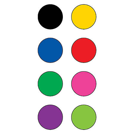 """Teacher Created Resources Mini Stickers, 3/8"""", Colorful Circles, Pre-K - Grade 12, Pack Of 528"""