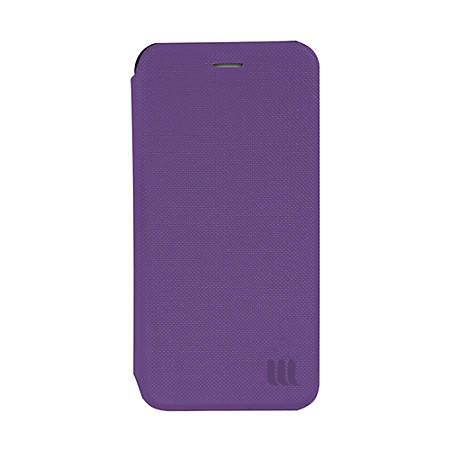 Lifeworks Mag Folio Detachable Leather Case For Apple® iPhone® 6 Plus, Purple