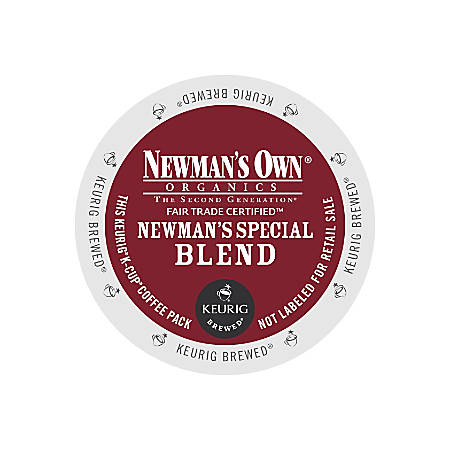 Newman's Own Organics Special Blend Coffee K-Cup® Pods, Box Of 24 Pods