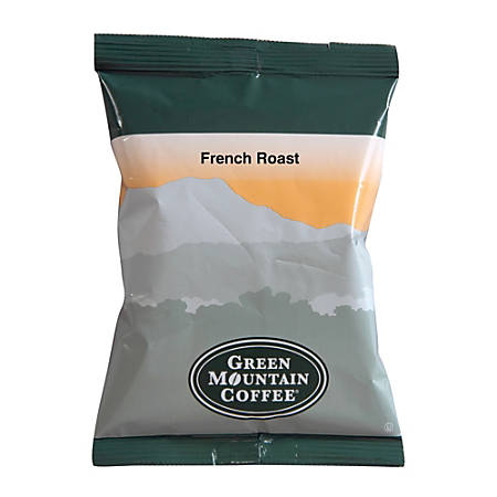 Green Mountain Coffee® French Roast Coffee, 2.2 Oz, Carton Of 50