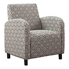 Monarch Specialties Celeste Accent Chair Earth